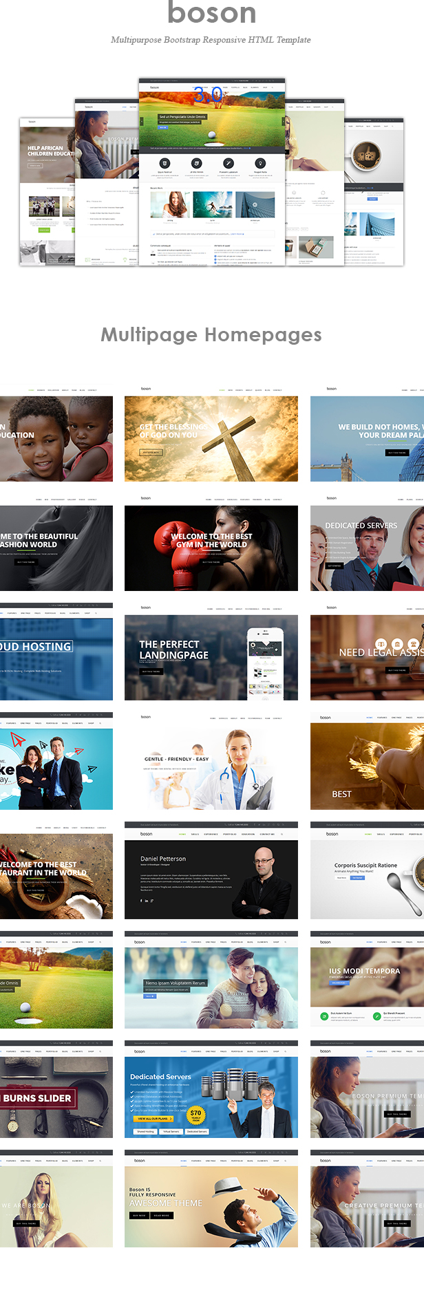 boson 3.0 live now responsive multipurpose html template